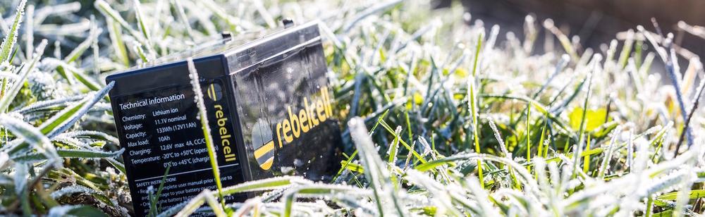 Rebelcell voor aan de waterkant